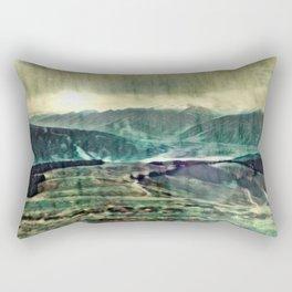 Loch Uisce Casadh Rectangular Pillow