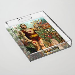 the strongest man of the world Acrylic Tray