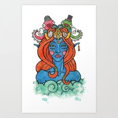 Sea Queen Art Print