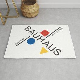 Bauhaus Movement Poster Artwork, 1919 Walter Gropius Reproduction, tshirt, tee, jersey, poster, artw Rug