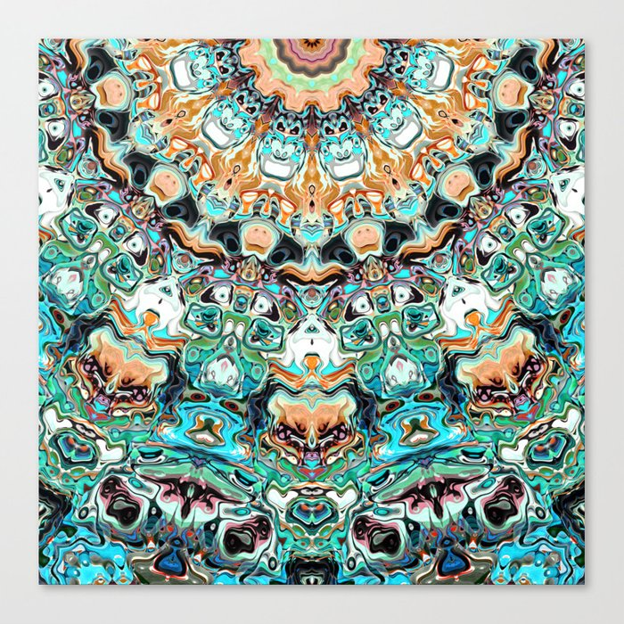 Abstract Colorful Pattern Canvas Print
