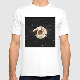 Galaxy coffee T-shirt