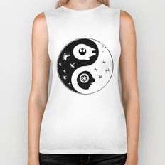 Star War Ying and Yang Biker Tank
