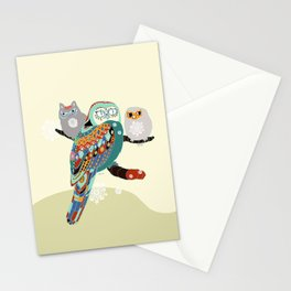 Owly friends Stationery Cards