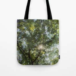 Inside the tree Tote Bag