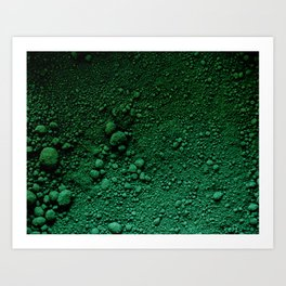 Verde Absoluto Art Print