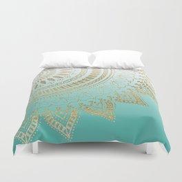 Pretty hand drawn tribal mandala elegant design Duvet Cover