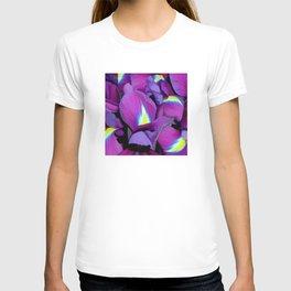 Purple Irises T-shirt