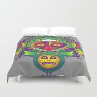 majora Duvet Covers featuring Majora Nouveau by Mareve Design