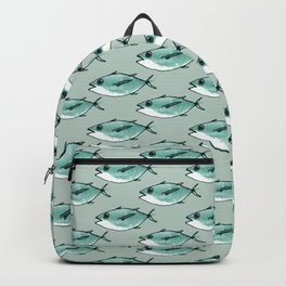Shoal of bluefin tuna Backpack