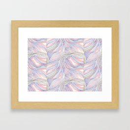 one hundred layers Framed Art Print