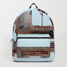 Vintage Neon Sign - Enter Here - Tucson Arizona Backpack