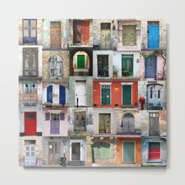 Thirty Doors Metal Print