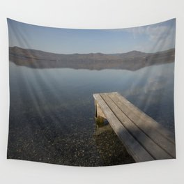 Autumn morning Wall Tapestry