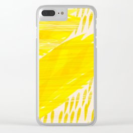 millennial yellow Clear iPhone Case