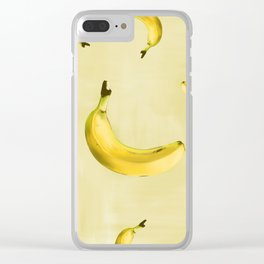el fruto del banano es sano Clear iPhone Case