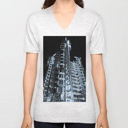 Lloyd's of London Building  Unisex V-Neck