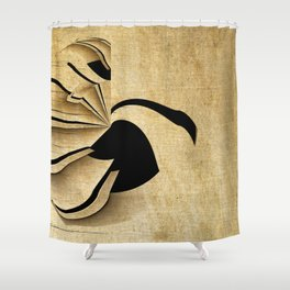 Ride The Swan Shower Curtain