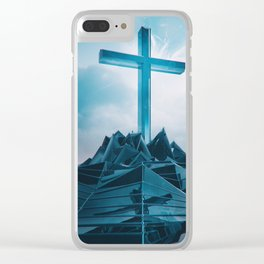 2GOD BE THE GLORY EGFXF28 Clear iPhone Case