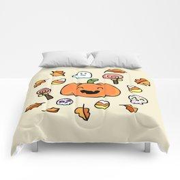 Halloween Doodles Comforters