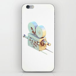 Low Poly Film Camera iPhone Skin