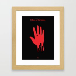 John Carpenter - Prince of darkness Framed Art Print