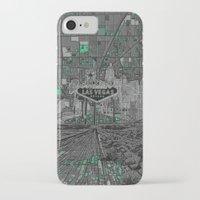 las vegas iPhone & iPod Cases featuring las vegas by Bekim ART