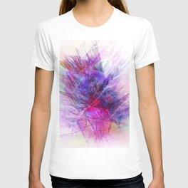 Digital Floral Abstract T-shirt
