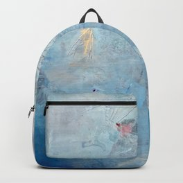 my soul is the color blue Backpack