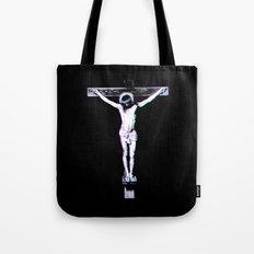 3d Jesus Tote Bag