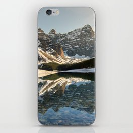 Moraine Sunset iPhone Skin