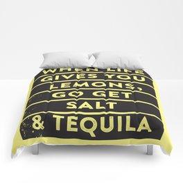 Lemons. Comforters