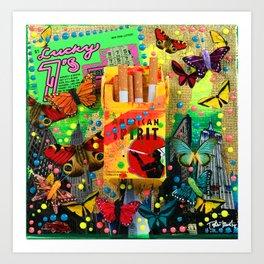 Lucky Sevens Art Print
