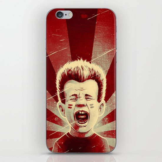 Red Noise iPhone & iPod Skin