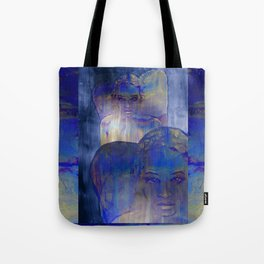no light without shadow Tote Bag