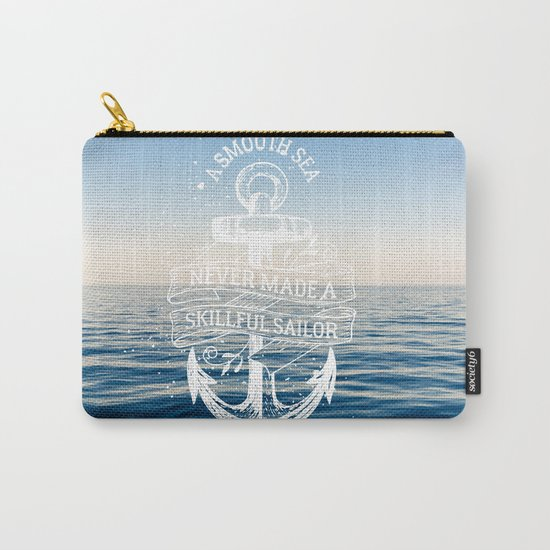 Sea Quote Carry-All Pouch