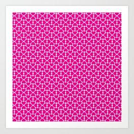 Pink Trefoil Art Print