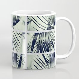 Green Palm Leaves Pattern #1 #decor #art #society6 Coffee Mug