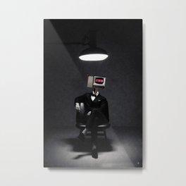 ATTENTION Metal Print