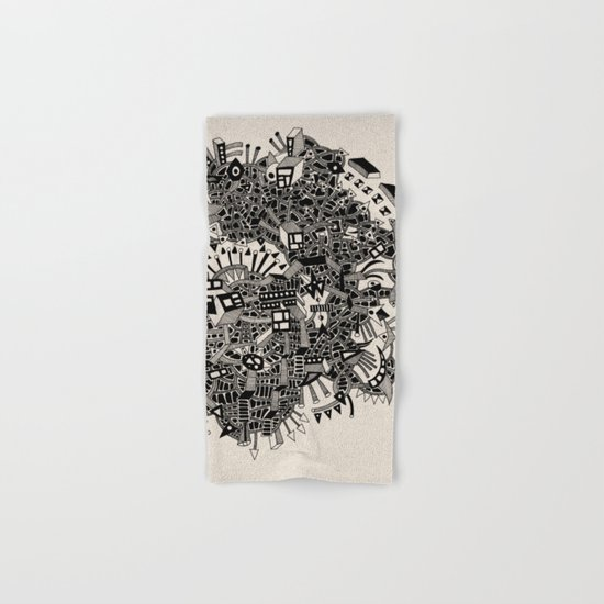 - city of april - Hand & Bath Towel