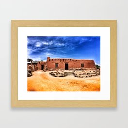 Land of Enchantment Framed Art Print
