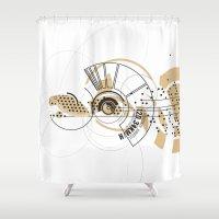 cheetah Shower Curtains featuring Cheetah by GA Studio