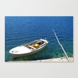 Croatian Rowboat Canvas Print