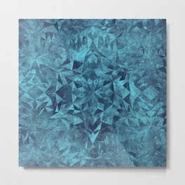 Winter Kaleidoscope Metal Print