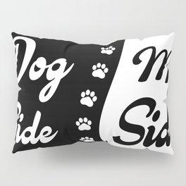 Dog Side, My Side, Funny Duvet Cover, Blanket, Comforter, Pillow Sham