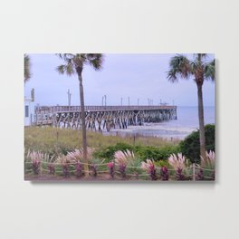 The Last Day Of The Surfside Pier Metal Print