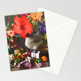 Still Life with Fat Chicken (Watercolor) Stationery Cards