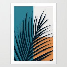 leaves 8 Art Print
