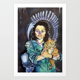 One Bad Mother Art Print