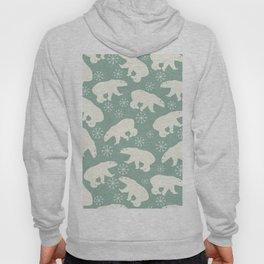 Merry Christmas - Polar bear - Animal pattern Hoody